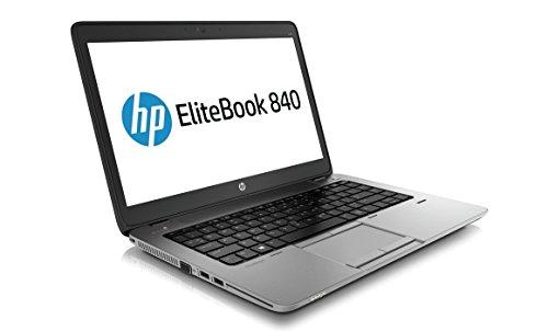 HP EliteBook 840 Notebook PC - Intel Core i7-4600U 2.1GHz 8GB 240 SSD Webcam Windows 10 Pro (Certified Refurbished) (I7 Hp Pc Elitebook Notebook)
