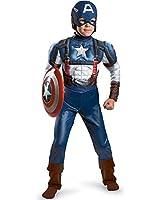 Captain America Movie Classic Muscle Costume