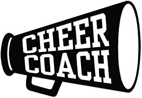 Cheerleader Cheer Vinyl Decal Stickers Car Wall Window Mug Glass 17 COLOURS