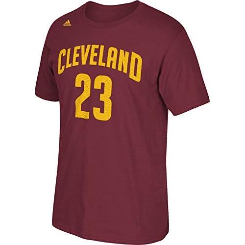 8108c77af15c Cleveland Cavaliers LeBron James NBA Name   Number T-Shirt outlet ...