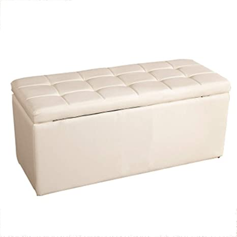 Amazon.com: Balalafairy-home Ottoman Bench Stool, Storage ...