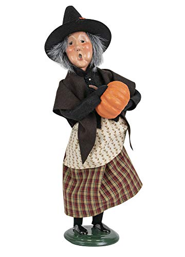 Byers' Choice Witch w/Pumpkin Caroler Figurine from The Halloween Collection #7192 (New