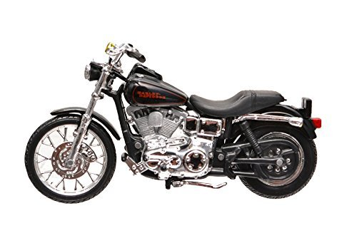 Harley Toy (1/24 Maisto Harley Davidson 2002 FXDL Dyna Low Rider Harley-Davidson die-cast motorcycle model [parallel import goods])
