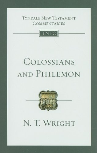 Colossians and Philemon (Tyndale New Testament Commentaries (IVP Numbered))