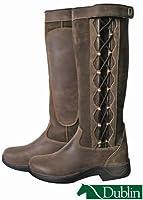Dublin Ladies Pinnacle Boots 8 Chocolate