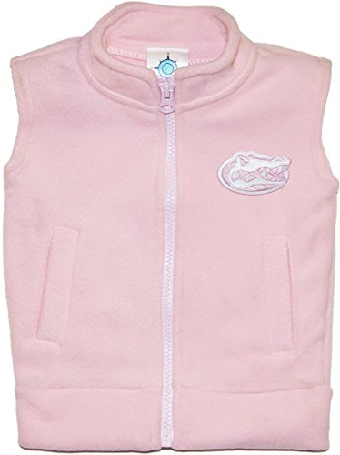 University of Florida Gators Baby and Toddler Polar Fleece Vest Pink