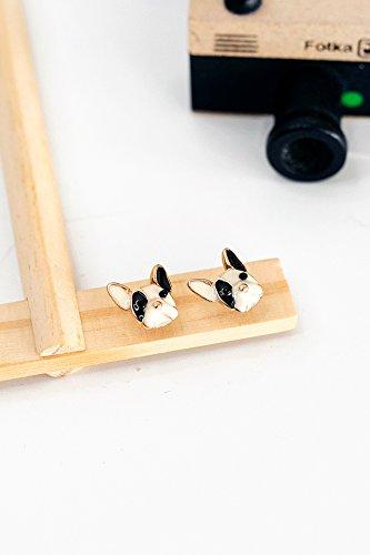 Generic Korean cute little earrings new mini cute little fresh Beautiful temperament simple earrings women girls lady accessories School