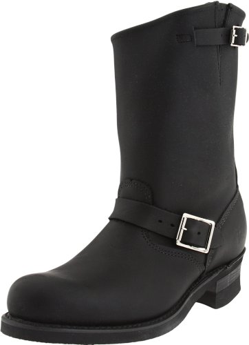 FRYE Men's Engineer 12R Boot Black 13 M US (Engineer Frye)