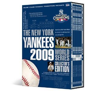 New York Yankees 2009 World Series Collector's Edition With Bonus ALCS Game 8 DVD SET -