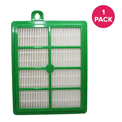 Eureka Hf1 Hepa Filter - Think Crucial Replacement for Electrolux & Eureka HEPA Style Filter Fits Sanitaire Vacuums, Compatible With Part # H12 & HF-1