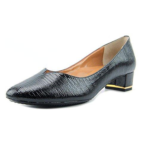 Renee Dress Women's Print Patent Lizard Leather Pump J Bambalina Black Ot4w4dq