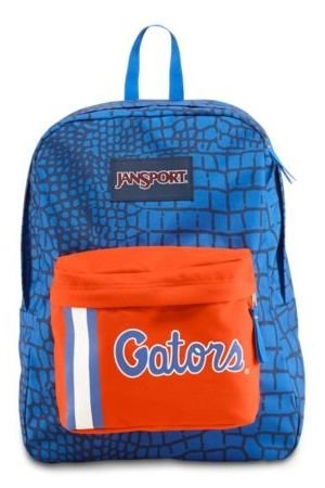 Jansport Collegiate Superbreak Back Pack NCAA Licensed Bag (Florida Gators)