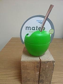 Mate Mateo – Yerba Mate silicona Calabaza de con bombilla