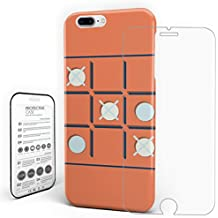 Phone Cases for iPhone 7/8 Plus Shock Absorption Anti-Scratch Technology Soft Unique Cover - Chess Game Pattern, 5.5 inch