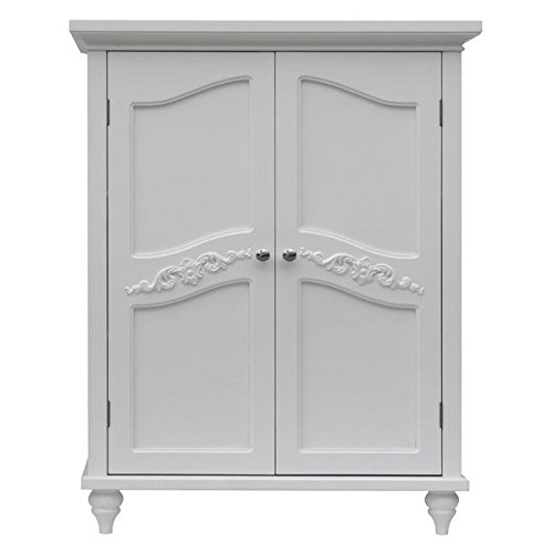 Yvette 2 Door Floor Cabinet by Elegant Home Fashions by Elegant Home
