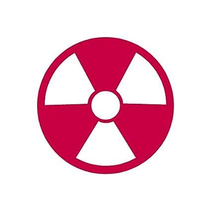 Amazon Radioactive Symbol Vinyl Decal Sticker 575 X 575