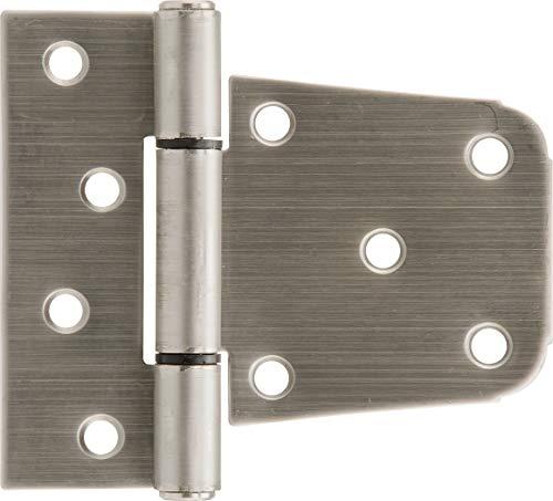 (Builders Hardware Stainless Steel Heavy Duty T-Hinges 3-1/2