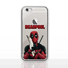 """iPhone 6/6s (4.7"""") Deadpool Silicone Phone Case / Gel Cover for Apple iPhone 6S 6 (4.7"""") / Screen Protector & Cloth / iCHOOSE / Unicorn Hold"""