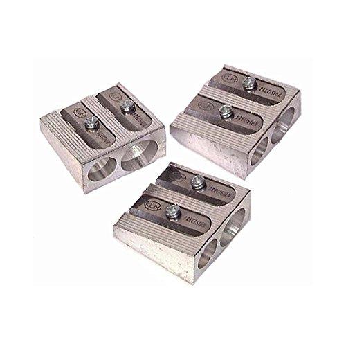KUM Metal 2-Hole Pencil Sharpener, 12 Count Box