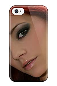 New Arrival Cover Case With Nice Design For Iphone 4/4s- Women Redheads