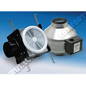 Fantech Fg 4xl Inline 4 Centrifugal Duct Fan Metal