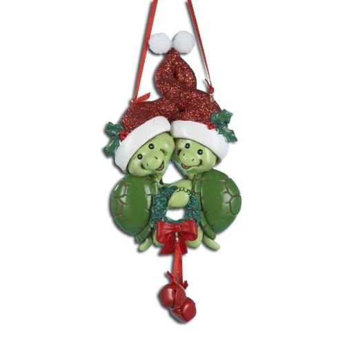 Turtle Couple Christmas Ornament by Kurt Adler
