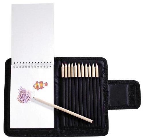 Darice Colored Pencil Case Combo