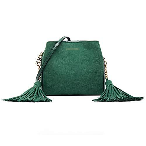 Nuevo Cubo Hombro Moda Handbag Cruz Mujer Bolso Salvaje Bolso E e Diagonal B Bolsa Invierno Borla Otoño De 4w8FqwX