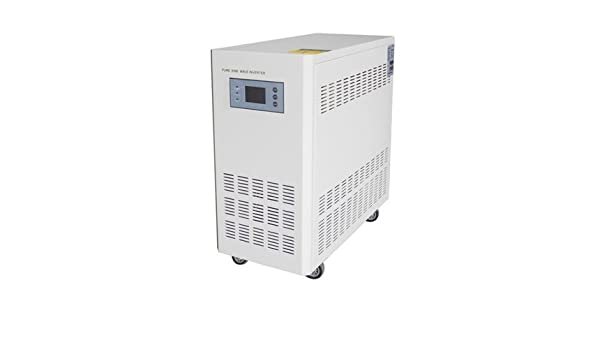Amazon com: 5000W 96V Hybrid controller inverter with UPS for off