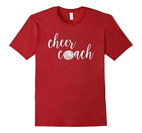 Mens Womens Cheer Coach Football Season Game Day Pep Rally Shirt Medium Cranberry (Pep Rally Football)