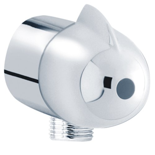 Hansgrohe Fix Fit Wall Outlet, Polished Chrome #27452001