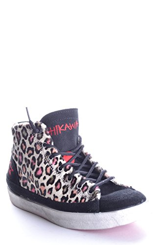 Ishikawa Hi Top Sneakers Donna MCBI156017O Tessuto Multicolor