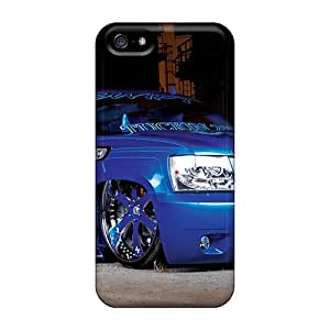 Hot Fashion ZSzbpEH1497CuCHr Design Case Cover For Iphone 5/5s Protective Case (08 Blue Tahoe)