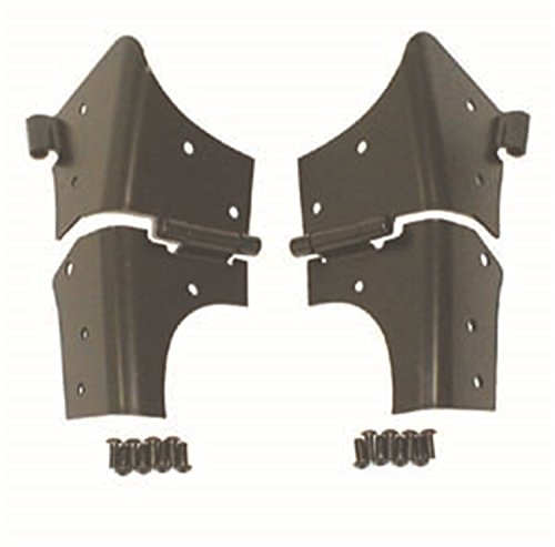Rugged Ridge 11209.02 Black Windshield Hinge (Hinge Wrangler Windshield Jeep)