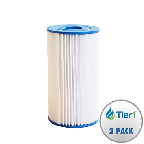 Tier1 Watkins 31489, Pleatco PWK30, Filbur FC-3915, Unicel C-6430 Comparable Replacement Spa Filter for Hot Spring Spas & Watkin Spas (2 Pack) by Tier1