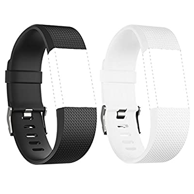 Bands for Fitbit Charge 2, Charge2 Accessories Wristbands, Pack of 2