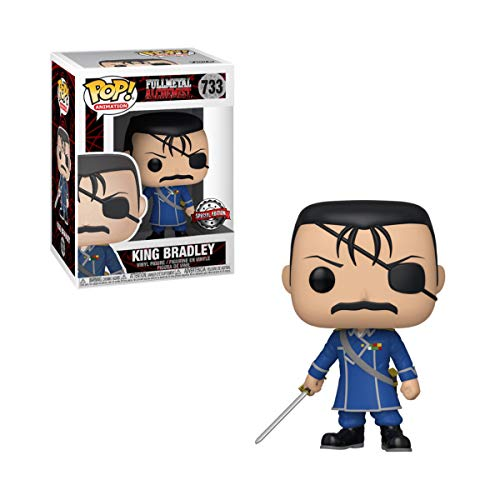 Funko Pop Full Metal Alchemist King Bradley Exclu