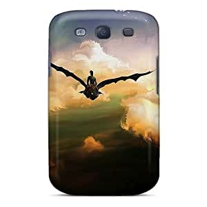 KerryParsons Samsung Galaxy S3 Shock-Absorbing Hard Phone Case Allow Personal Design Fashion How To Train Your Dragon Pattern [wpM13289ceaW]