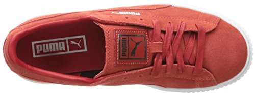 outlet big discount outlet visit PUMA Women's Suede Platform Core Fashion Sneaker Barbados Cherry/Barbados ydGhubTYuU