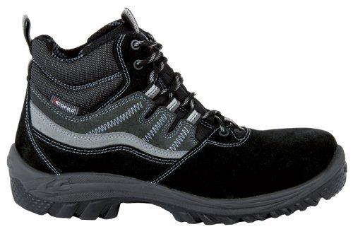 """Cofra 63440–000.w40taglia 40S1P SRC """"Augsburg sicurezza scarpe, colore: nero/grigio"""