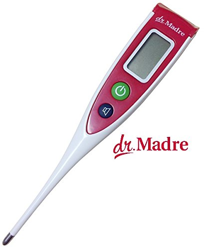 Medical Digital Thermometer Quick-Read 8 Second for Oral Body Temperature, Clinical Fever Detector FDA Cleared for Infant, Babies, Children, and Adults by Dr. Madre by Dr. Madre