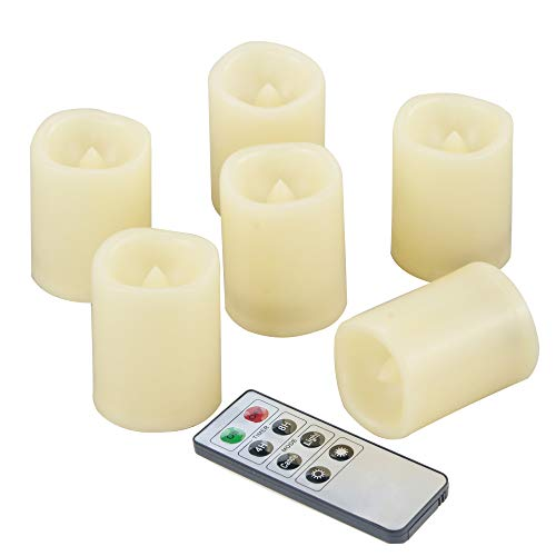 Led Light Votive Candles With Timer in US - 6