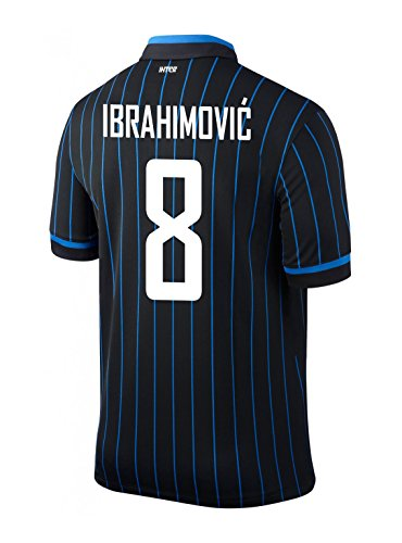IBRAHIMOVIC #8 Inter Milan Home 2014/2015 (XL) for sale  Delivered anywhere in USA