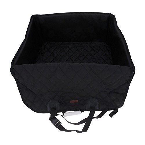 Puppy Food 35 Lb Bag (S&M TREADE-Fit for Max 35lbs 2 in 1 Waterproof Pet Seat Cover Dog Car Front Seat Cover Bag (Black))