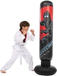 "JOYIN 5'3"" Inflatable Punching Bag for Kids, Free Standing Ninja Boxing Bag for Immediate Bounce-Back for Prac"