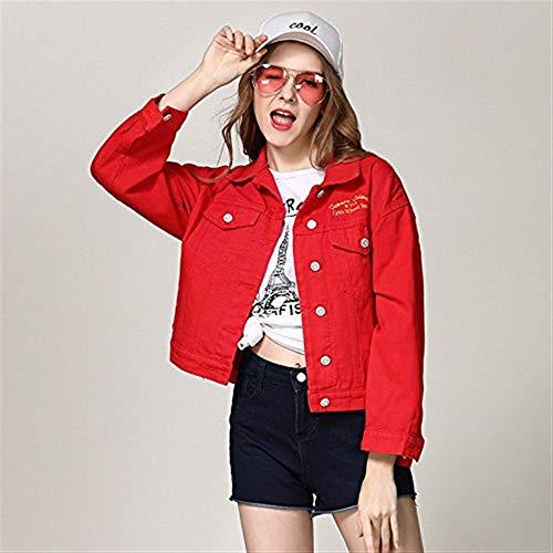Moda Corto Semplice Vita Outerwear Breasted Manica Alta Giacche Bavero Jeans Single Elegante Rot Glamorous Casual Di Donna Autunno Monocromo Lunga Cappotto IvnXwS6HS