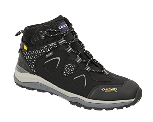Discovery Expedition Mens Ergonomic Outdoor Backpacking Trek Kora Hiking Boots Black Sky 9.5
