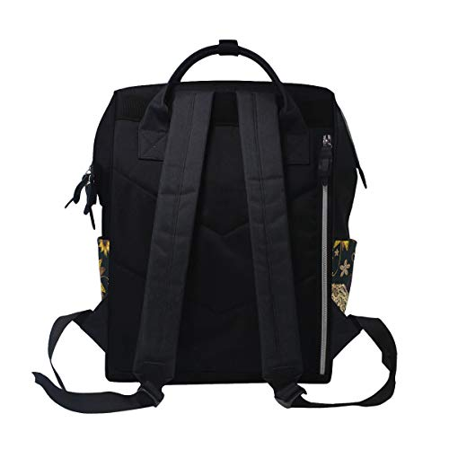 Bag Mummy Women Large Canvas for Butterfly Bag Capacity Muti Function Multi7 Backpack Colorful Travel U7fwPq