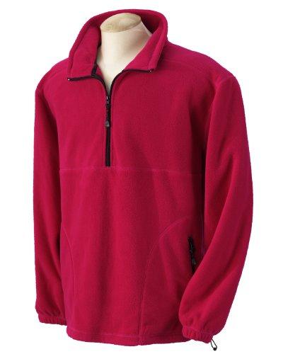 Devon & Jones Wintercept Fleece Quarter-Zip Jacket>XL CHARCO
