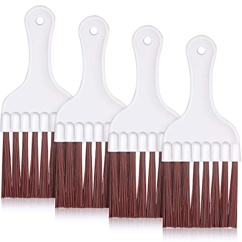 Air Conditioner Condenser Fin Cleaning Brush, Refrigerator Coil Cleaning Whisk Brush (4 Pieces)